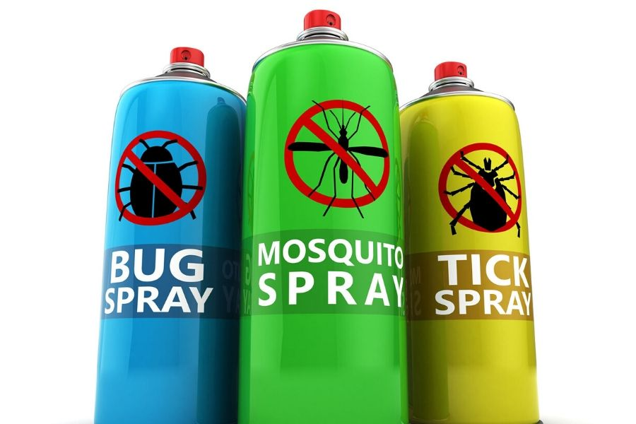 Bug, Mosquito, and Tick Spray