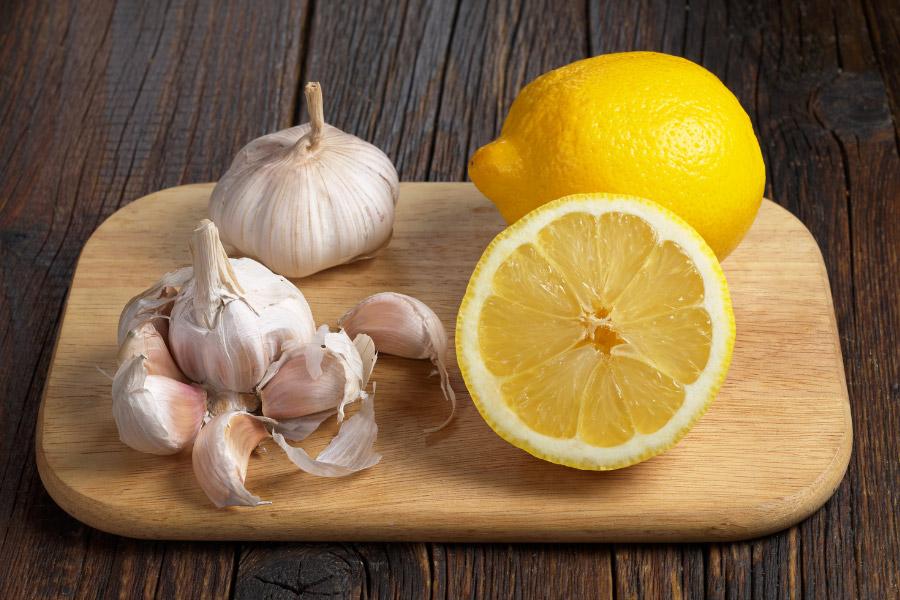 Onions and lemons